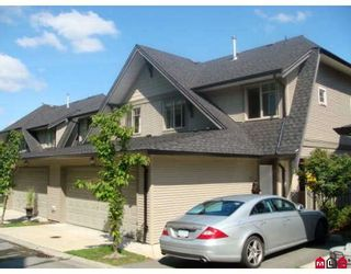 """Photo 1: 19 15152 62A Avenue in Surrey: Sullivan Station Townhouse for sale in """"UPLANDS"""" : MLS®# F2826313"""