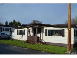 Photo 1: 4 60 Cooper Rd in VICTORIA: VR Glentana Manufactured Home for sale (View Royal)  : MLS®# 753353