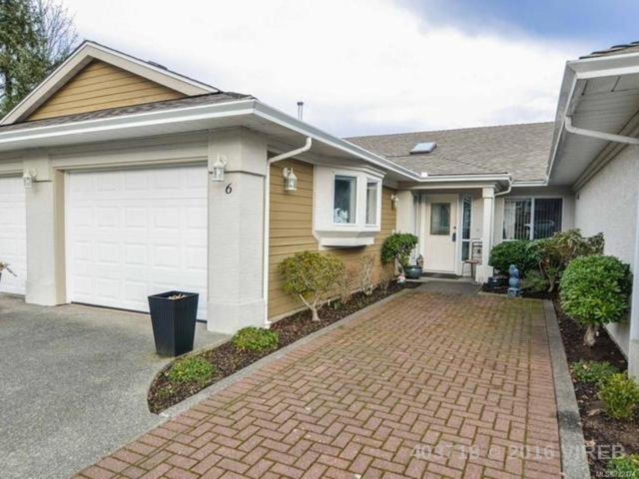 Main Photo: 6 650 Yorkshire Dr in CAMPBELL RIVER: CR Willow Point Row/Townhouse for sale (Campbell River)  : MLS®# 722174