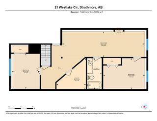 Photo 34: 21 Westlake Circle: Strathmore Semi Detached for sale : MLS®# A1142437