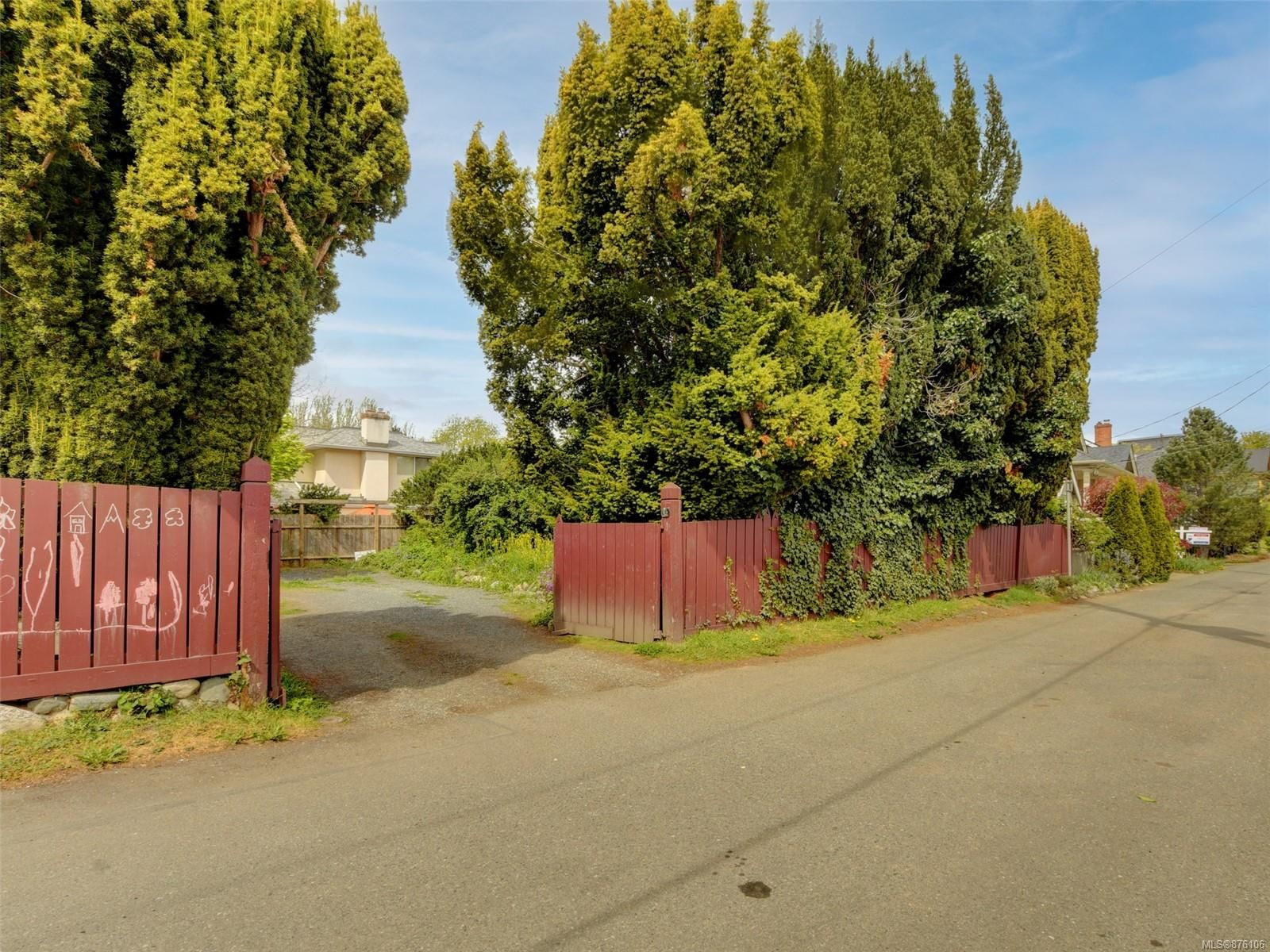 Main Photo: 410 Heather St in : Vi James Bay Land for sale (Victoria)  : MLS®# 876106