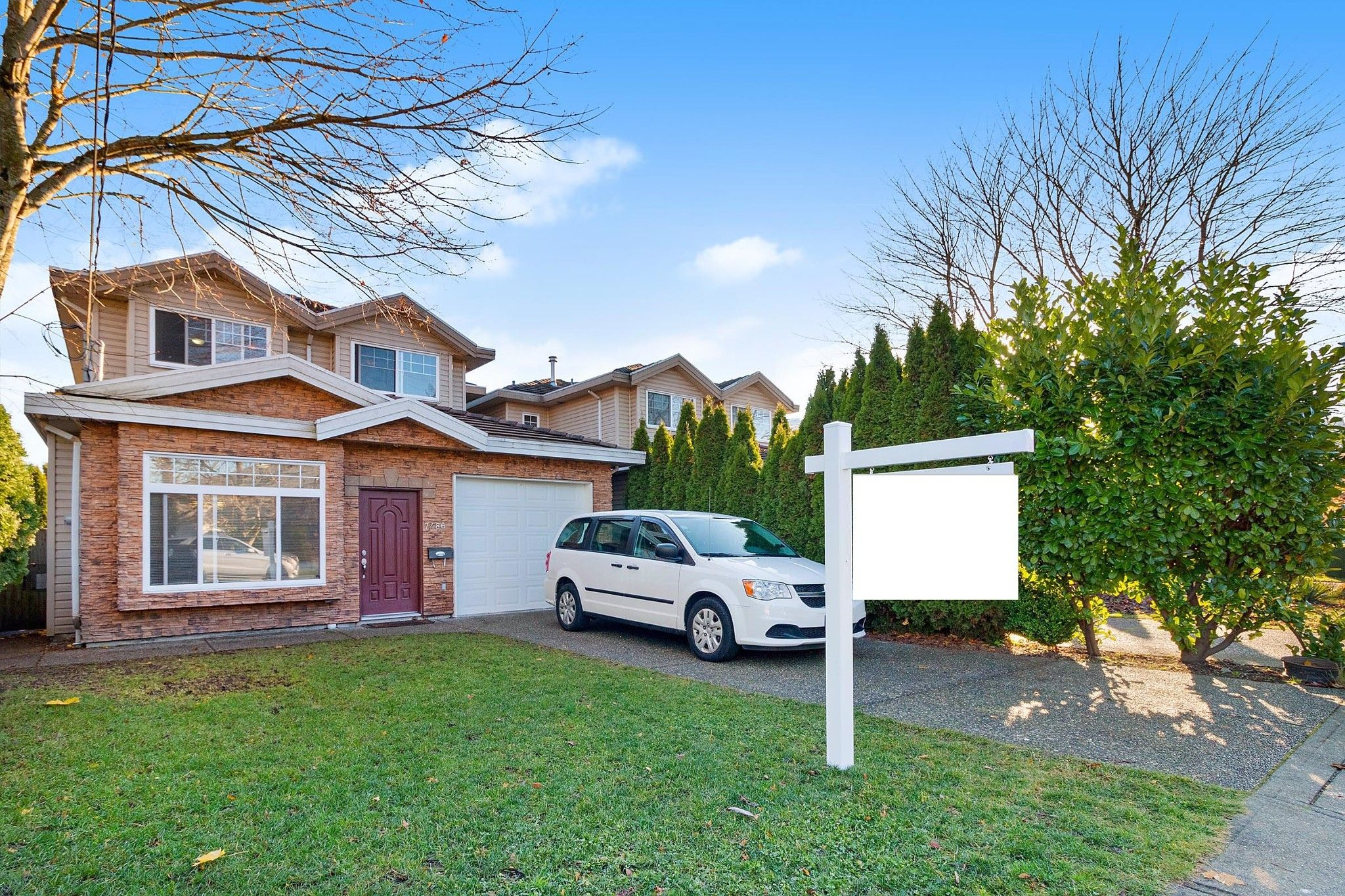 Main Photo: 7486 ELWELL Street in Burnaby: Highgate 1/2 Duplex for sale (Burnaby South)  : MLS®# R2520924