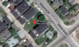 Main Photo: 4511 Bowness Road NW in Calgary: Montgomery Residential Land for sale : MLS®# A1124179