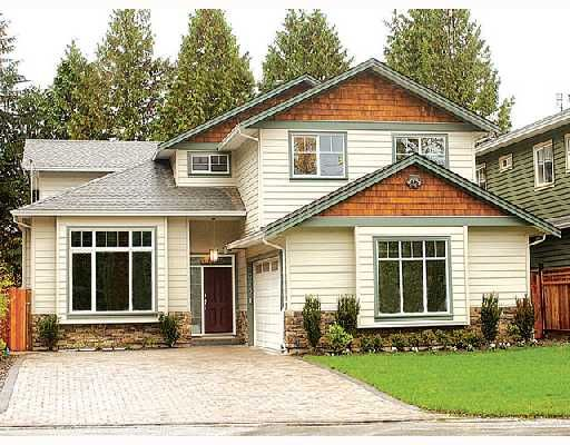 Main Photo: 2673 TERRACE Avenue in North_Vancouver: Capilano NV House for sale (North Vancouver)  : MLS®# V675281