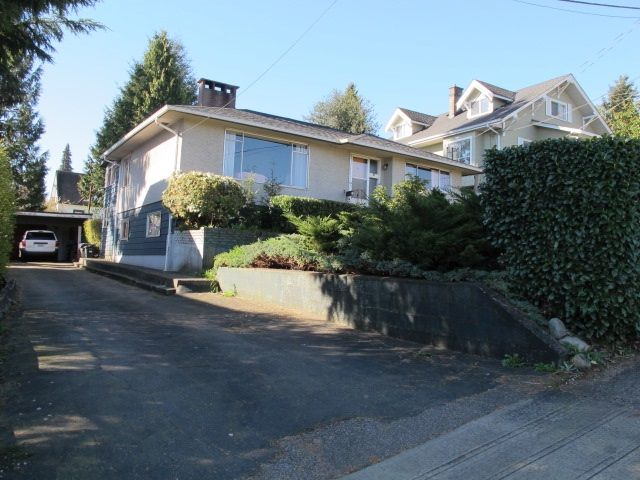 Main Photo: 334 HOULT STREET in New Westminster: The Heights NW House for sale : MLS®# R2050186