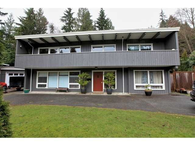 Main Photo: 3977 SUNSET Boulevard in North Vancouver: Capilano Highlands House for sale : MLS®# V952217