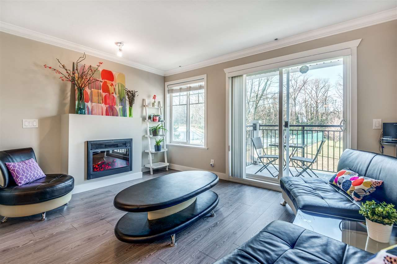 """Main Photo: 103 4025 NORFOLK Street in Burnaby: Central BN Townhouse for sale in """"Norfolk Terrace"""" (Burnaby North)  : MLS®# R2532950"""