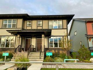 Photo 1: 946 Mahogany Boulevard SE in Calgary: Mahogany Semi Detached for sale : MLS®# A1146730