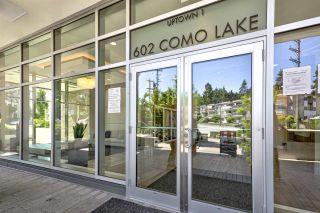 "Photo 17: 807 602 COMO LAKE Avenue in Coquitlam: Coquitlam West Condo for sale in ""Uptown 1"" : MLS®# R2605850"