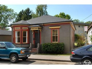 Photo 1: 120 St. Lawrence St in VICTORIA: Vi James Bay House for sale (Victoria)  : MLS®# 693945