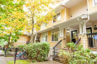"Photo 1: 8 6878 SOUTHPOINT Drive in Burnaby: South Slope Townhouse for sale in ""CORTINA"" (Burnaby South)  : MLS®# R2510279"