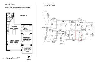 "Photo 2: 309 9298 UNIVERSITY Crescent in Burnaby: Simon Fraser Univer. Condo for sale in ""NOVO 1"" (Burnaby North)  : MLS®# R2173373"