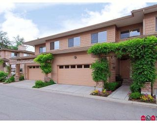 """Photo 1: 43 16655 64TH Avenue in Surrey: Cloverdale BC Townhouse for sale in """"Ridgewoods @ Northview"""" (Cloverdale)  : MLS®# F2822029"""