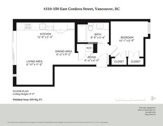 Photo 16: 310 150 E CORDOVA STREET in Vancouver: Downtown VE Condo for sale (Vancouver East)  : MLS®# R2413027