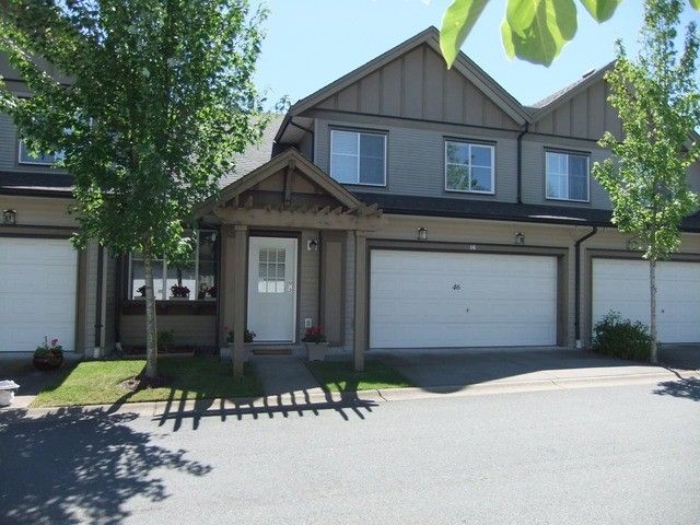 """Main Photo: 46 15868 85TH Avenue in Surrey: Fleetwood Tynehead Townhouse for sale in """"Chestnut Grove"""" : MLS®# F1315726"""