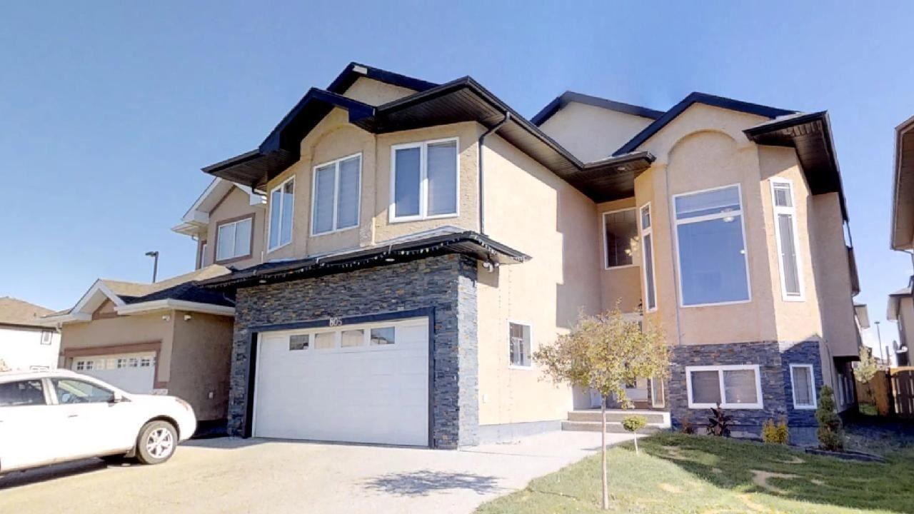 Main Photo: 805 WILDWOOD Crescent in Edmonton: Zone 30 House for sale : MLS®# E4240471