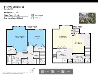 Photo 30: 14 7077 EDMONDS STREET in Burnaby: Highgate Townhouse for sale (Burnaby South)  : MLS®# R2619133