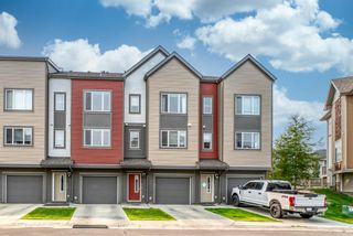 Main Photo: 223 Copperpond Row SE in Calgary: Copperfield Row/Townhouse for sale : MLS®# A1134510