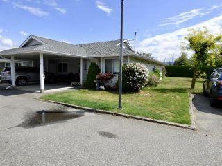 "Main Photo: 174 7610 EVANS Road in Chilliwack: Sardis West Vedder Rd Townhouse for sale in ""COTTONWOOD RETIREMENT VILLAGE"" (Sardis)  : MLS®# R2392663"