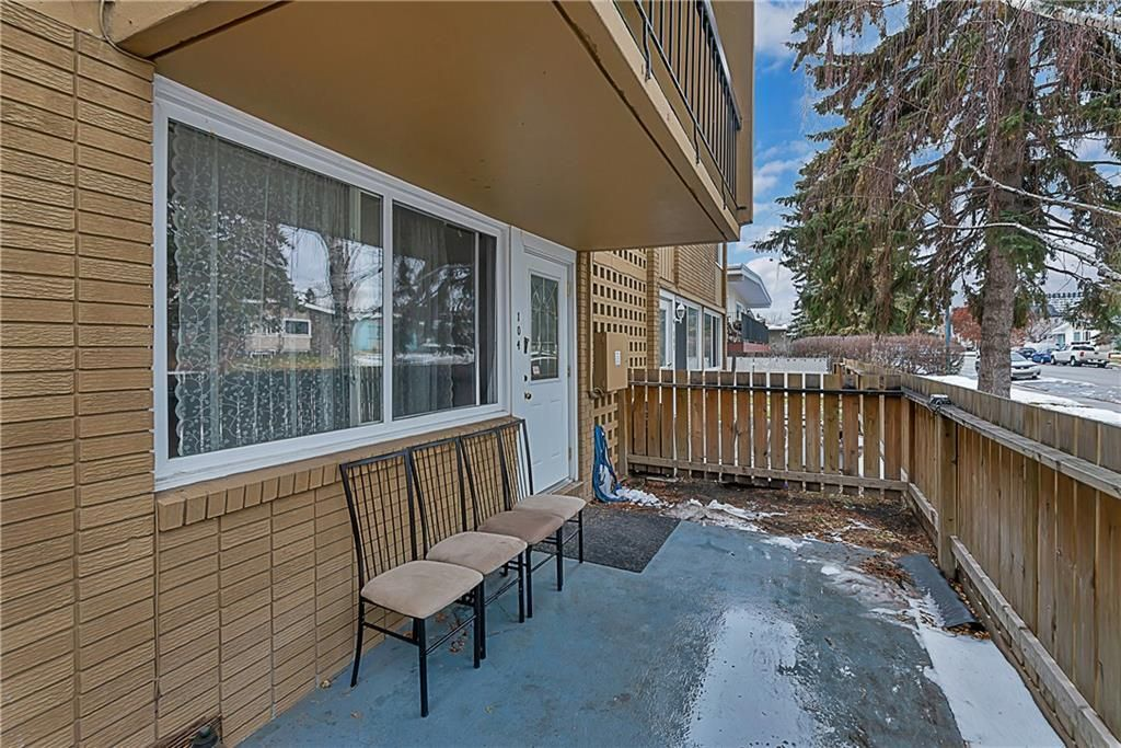 Main Photo: 104 607 69 Avenue SW in Calgary: Kingsland Apartment for sale : MLS®# A1088841