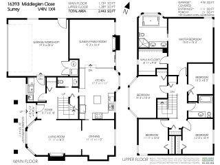 """Photo 20: 16393 MIDDLEGLEN Close in Surrey: Fraser Heights House for sale in """"Fraser Heights-Fraser Glen Neig"""" (North Surrey)  : MLS®# R2123831"""