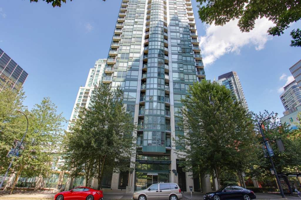 Main Photo: 1206 1239 W GEORGIA STREET in Vancouver: Coal Harbour Condo for sale (Vancouver West)  : MLS®# R2198728