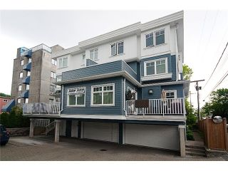 Photo 10: 2862 SPRUCE Street in Vancouver: Fairview VW Townhouse for sale (Vancouver West)  : MLS®# V836989