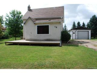 Photo 1: 14 First Avenue in STJEAN: Manitoba Other Residential for sale : MLS®# 1314775