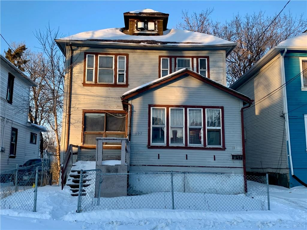 Main Photo: 397 Alfred Avenue in Winnipeg: North End Residential for sale (4A)  : MLS®# 202103297