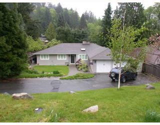 """Main Photo: 5742 BLUEBELL Drive in West_Vancouver: Eagle Harbour House for sale in """"Eagle Harbour"""" (West Vancouver)  : MLS®# V766106"""