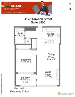 Photo 20: 905 4178 DAWSON Street in Burnaby: Brentwood Park Condo for sale (Burnaby North)  : MLS®# R2013019