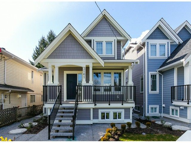 Main Photo: 3161 JERVIS ST in Port Coquitlam: Woodland Acres PQ House for sale : MLS®# V1043838