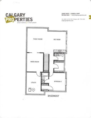 Photo 49: 3611 33 Street SW in Calgary: Rutland Park Semi Detached for sale : MLS®# A1143342