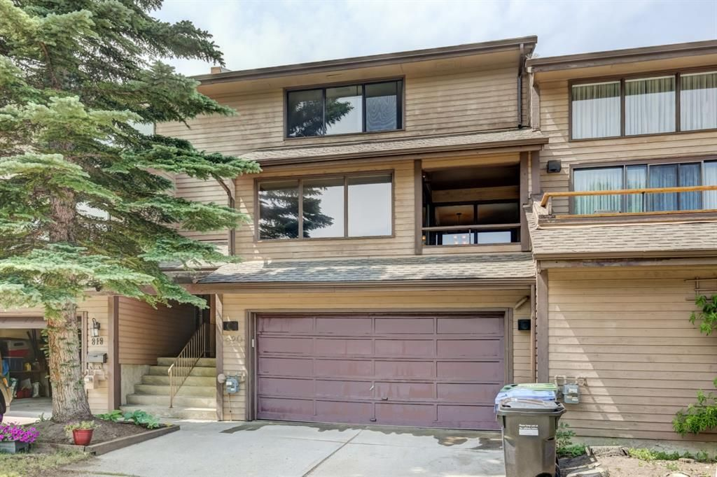 Main Photo: 820 Edgemont Road NW in Calgary: Edgemont Row/Townhouse for sale : MLS®# A1126146