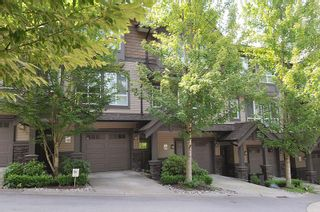 """Photo 1: 129 1480 SOUTHVIEW Street in Coquitlam: Burke Mountain Townhouse for sale in """"CedarCreek North"""" : MLS®# R2486370"""