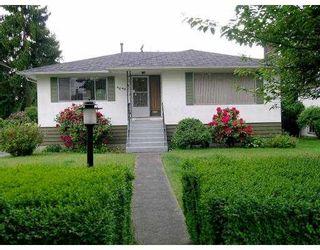 Main Photo: 4044 FIR Street in Burnaby: Burnaby Hospital House for sale (Burnaby South)  : MLS®# V593028