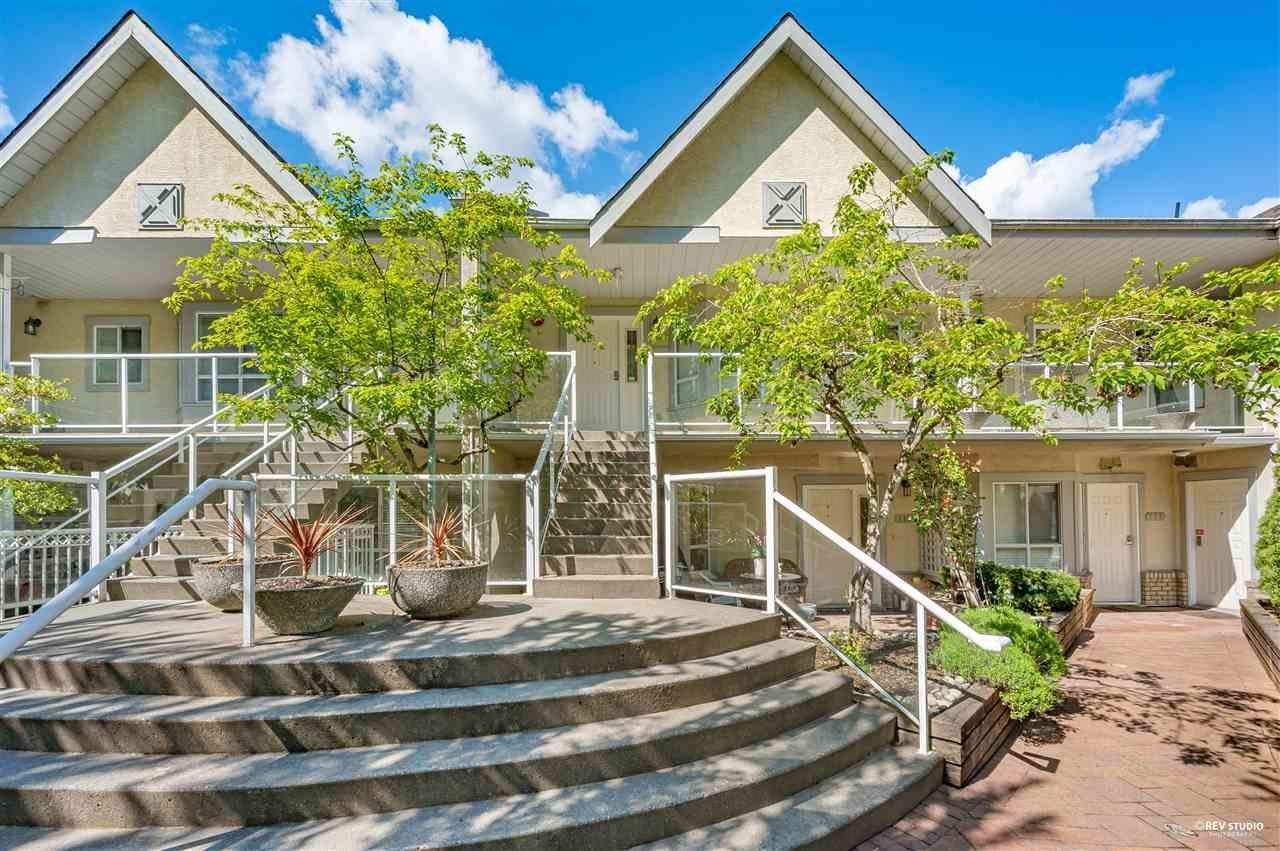 """Main Photo: 110 4155 SARDIS Street in Burnaby: Central Park BS Townhouse for sale in """"Sardis Court"""" (Burnaby South)  : MLS®# R2581660"""