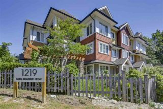 """Photo 1: 18 1219 BURKE MOUNTAIN Street in Coquitlam: Burke Mountain Townhouse for sale in """"REEF"""" : MLS®# R2292152"""