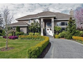"""Photo 1: 2515 138TH Street in Surrey: Elgin Chantrell House for sale in """"Peninsula Park"""" (South Surrey White Rock)  : MLS®# F1307515"""