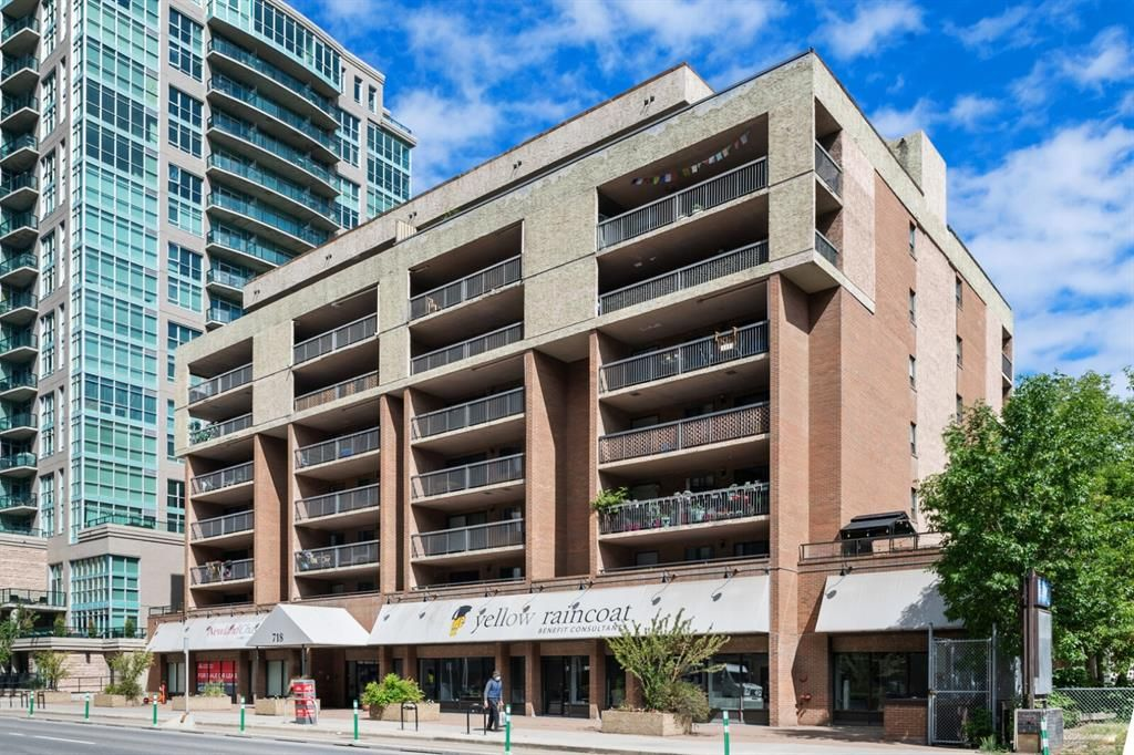 Main Photo: 601 718 12 Avenue SW in Calgary: Beltline Apartment for sale : MLS®# A1123779