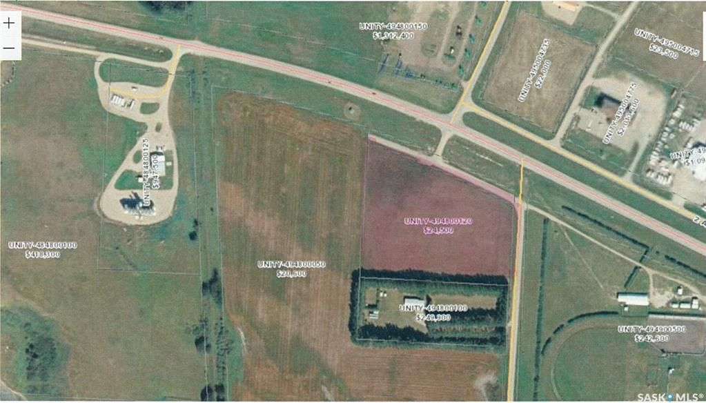 Main Photo: Hwy 14 and West Entrance Road in Unity: Commercial for sale : MLS®# SK845542