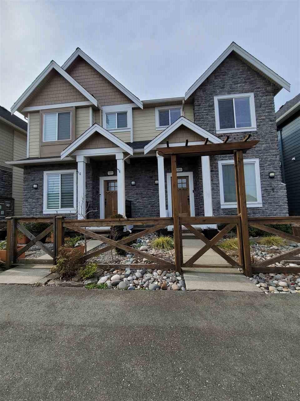 Main Photo: 7283 192 Street in Surrey: Clayton 1/2 Duplex for sale (Cloverdale)  : MLS®# R2551109