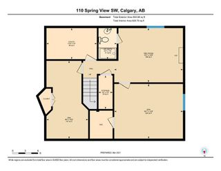Photo 36: 110 Spring View SW in Calgary: Springbank Hill Detached for sale : MLS®# A1074720