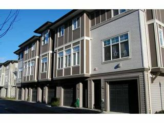 Photo 1: 66 1010 Ewen Avenue in New Westminster: Queensborough Townhouse for sale : MLS®# V860669