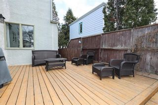 Photo 30: 433 Cambridge Street in Winnipeg: River Heights Residential for sale (1C)  : MLS®# 202109389