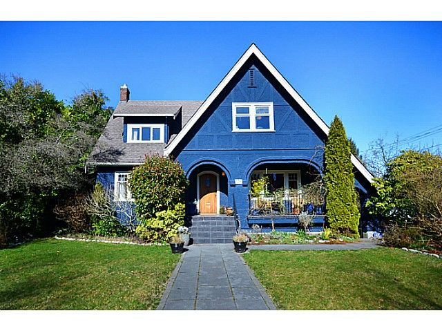 Main Photo: 1125 W 33RD Avenue in Vancouver: Shaughnessy House for sale (Vancouver West)  : MLS®# V1100048