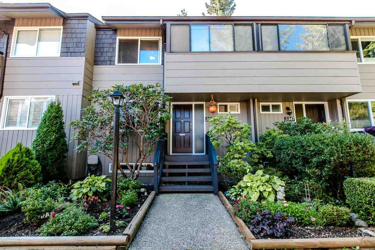 Main Photo: 2345 MOUNTAIN HIGHWAY in North Vancouver: Lynn Valley Townhouse for sale : MLS®# R2114442