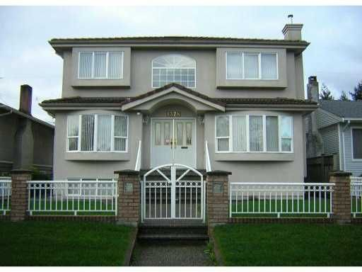 Main Photo: 1378 E 34TH Avenue in Vancouver: Knight House for sale (Vancouver East)  : MLS®# V888130