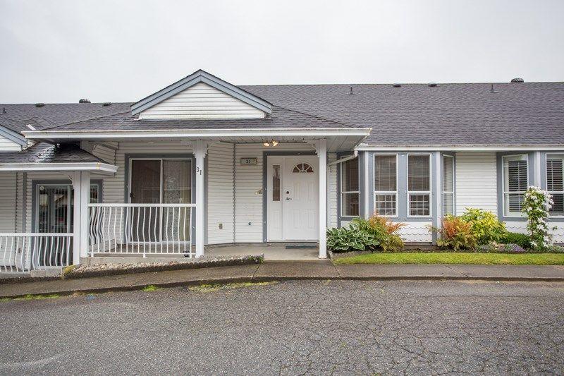 Main Photo: 31 20554 118 AVENUE in : Southwest Maple Ridge Townhouse for sale : MLS®# R2463701
