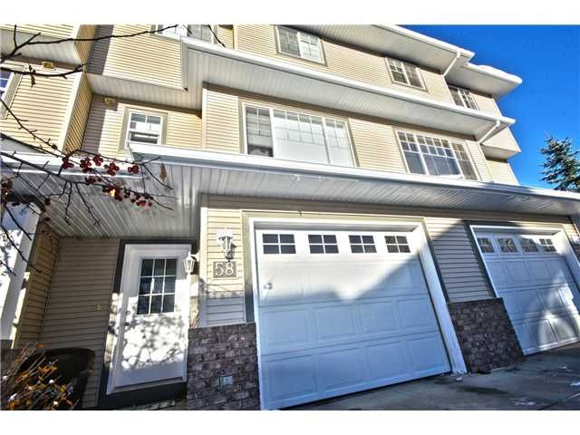Main Photo: 58 CRYSTAL SHORES Cove: Okotoks Townhouse for sale : MLS®# C3643432